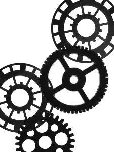 Gears II by Monika Burkhart