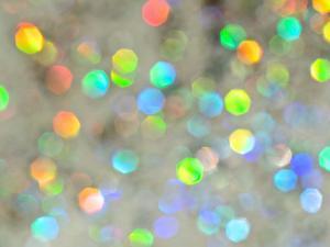 Glitter Bokeh IV by Monika Burkhart