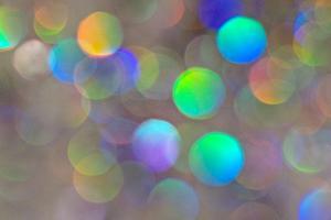 Glitter Bokeh by Monika Burkhart