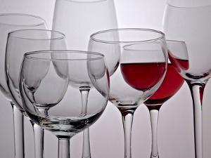 Wine Glasses by Monika Burkhart