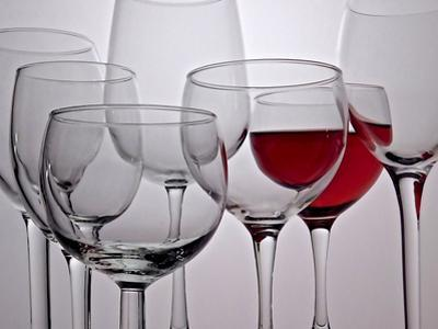 Wine Glasses by Monika Burkhart