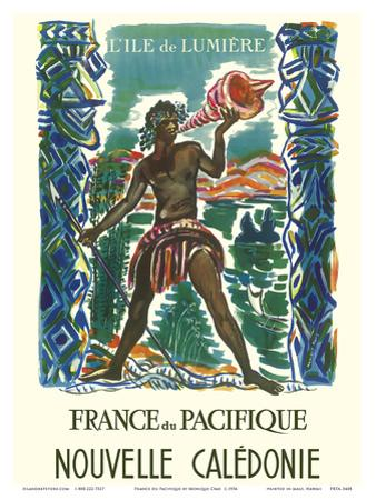 France du Pacifique (France in the Pacific) - New Caledonia -The Island of Light