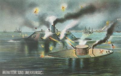 Monitor and Merrimac