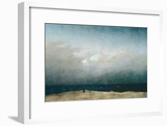 Monk by Sea, 1809-Caspar David Friedrich-Framed Giclee Print