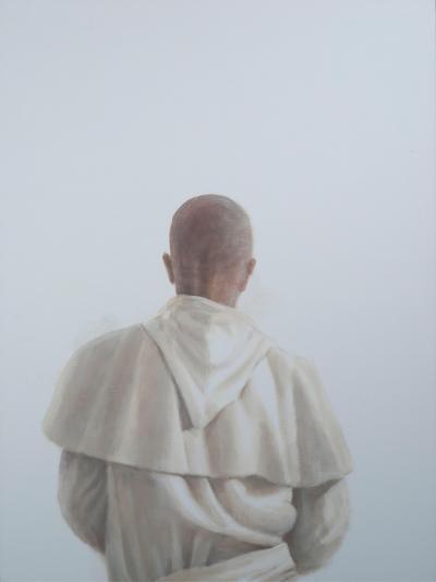 Monk Sant'Antimo II, 2012-Lincoln Seligman-Giclee Print