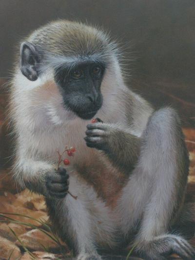 Monkey 2-Michael Jackson-Giclee Print