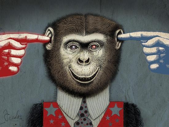 Monkey-Anthony Freda-Giclee Print