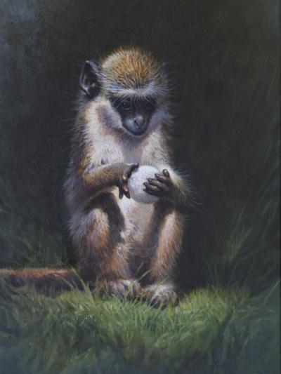 Monkey-Michael Jackson-Giclee Print