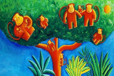 Monkeys in a Tree, 2002-Julie Nicholls-Giclee Print