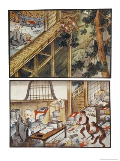 Monkeys Reincarnated-R. Gordon Smith-Giclee Print