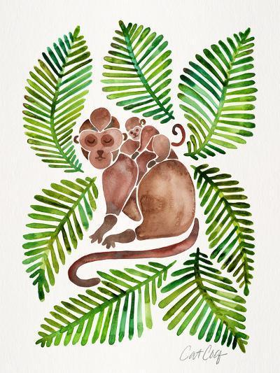 Monkeys-Cat Coquillette-Art Print