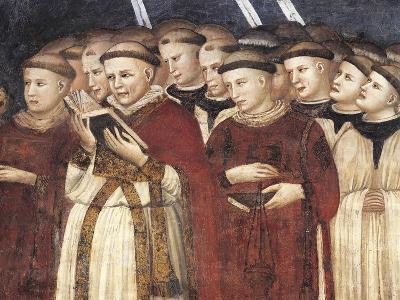 Monks in Prayer--Giclee Print