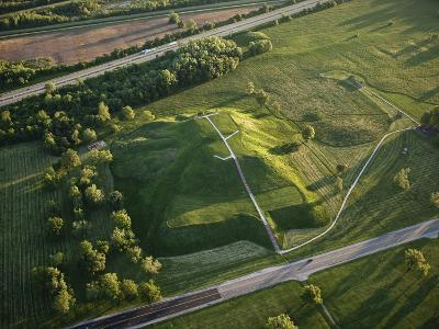 Monks Mound Is the Centerpiece of Cahokia Mounds State Historic Site-Ira Block-Photographic Print