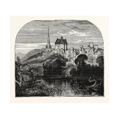 Monmouth Castle--Giclee Print