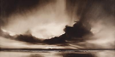 Mono Sky - Saffron Edt-Robert J^ Ford-Art Print