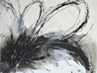 Monochrome Flora I-Caroline Ashwood-Giclee Print