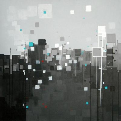 Monochrome I-Carol Joy Shannon-Art Print