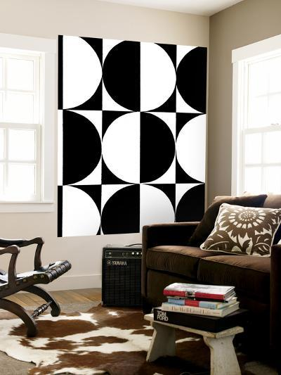 Monochrome Patterns 5-Natasha Marie-Wall Mural