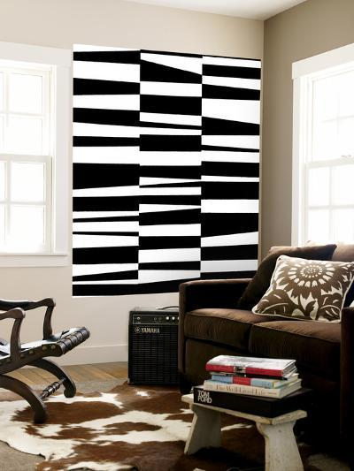 Monochrome Patterns 7-Natasha Marie-Wall Mural