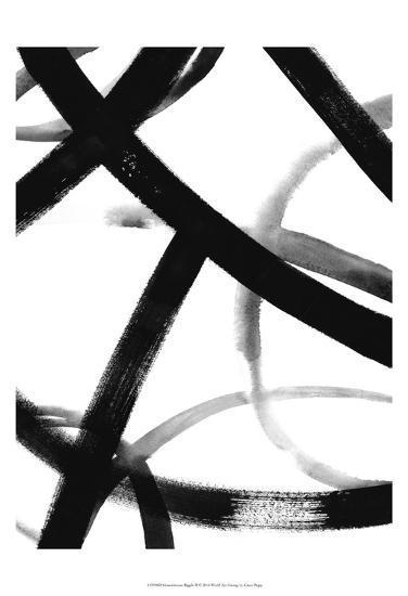 Monochrome Ripple II-Grace Popp-Art Print