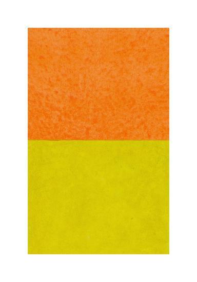 Monochrome (Yellow), 2011-Vlado Fieri-Giclee Print