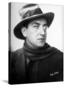 Monocled Austrian Born Film Director Fritz Lang During His Days at Germany's Ufa Studios