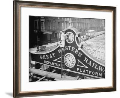 Monogram Railway--Framed Photographic Print