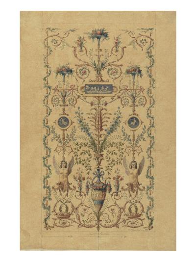 Monographie du palais de Fontainebleau : Cabinet de la Salle du Conseil-Rodolphe Pfnor-Giclee Print