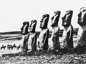 Monolithic Statues, Easter Island