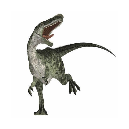 Monolophosaurus Dinosaur--Art Print