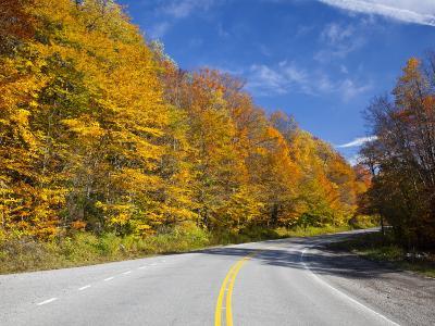 Monongahela National Forest at Route 250, Cheat Bridge, West Virginia, USA-Walter Bibikow-Photographic Print