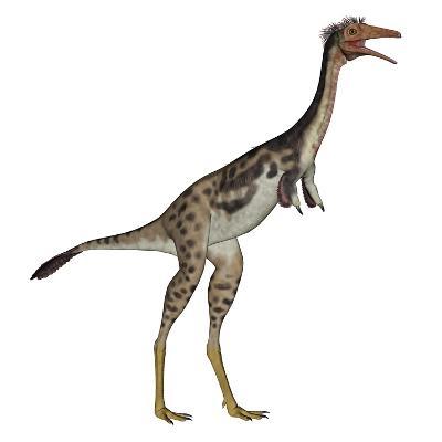 Mononykus Dinosaur Standing-Stocktrek Images-Art Print