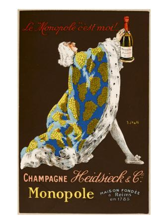 Monopole Champagne, Made by Heidsieck and Co--Giclee Print