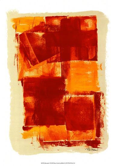 Monoprint I-Renee W^ Stramel-Art Print