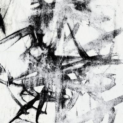 Monotype Scribble II-Jennifer Goldberger-Art Print