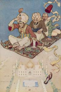 The Magic Carpet Favoured Transport System of the Arabian Nights by Monro S^ Orr