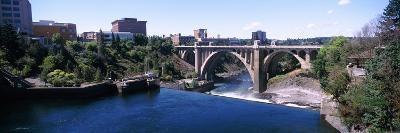 Monroe Street Bridge across Spokane River, Spokane, Washington State, USA--Photographic Print