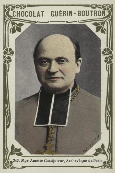 Monseigneur Amette Coadjuteur, Archeveque De Paris--Giclee Print