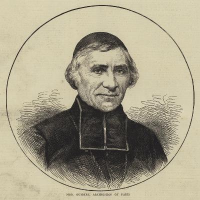 Monseigneur Guibert, Archbishop of Paris--Giclee Print
