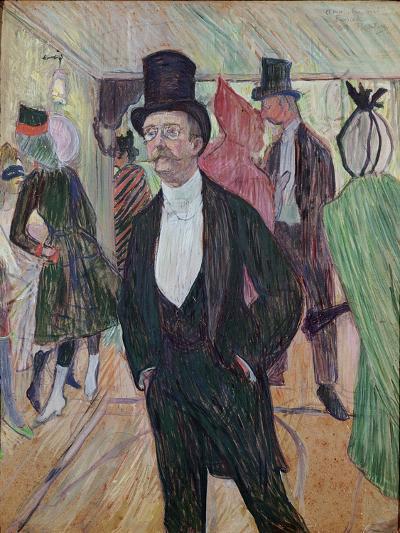 Monsieur Fourcade, 1889-Henri de Toulouse-Lautrec-Giclee Print