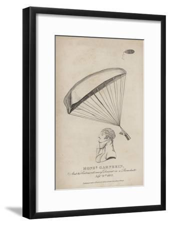 Monsieur Garnerin, and His Extraordinary Descent in a Parachute, 21 September 1802