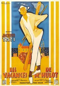 "Monsieur Hulot's Holiday, 1953, ""Les Vacances De Monsieur Hulot"" Directed by Jacques Tati"