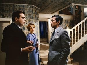 Monsieur Klein by Joseph Losey with Michael Lonsdale and Alain Delon, 1976 (photo)