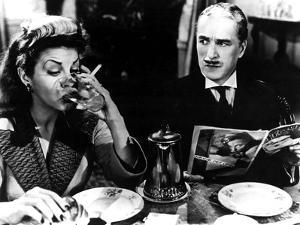 Monsieur Verdoux, Martha Raye, Charlie Chaplin, 1947