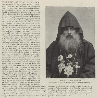 Monsignore Tchamtchian, the New Armenian Patriarch at Constantinople--Giclee Print