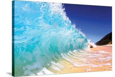 Monster Curl Maui--Stretched Canvas Print