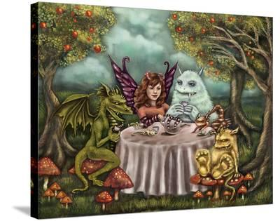 Monster Party-Diana Levin-Stretched Canvas Print