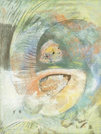 Monster Submarine-Odilon Redon-Giclee Print