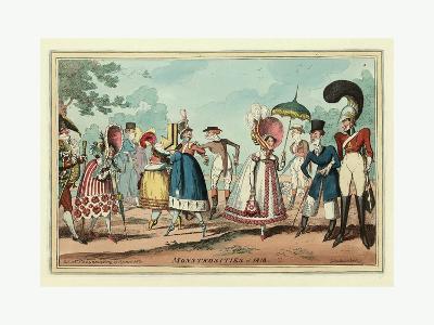 Monstrosities of 1818--Giclee Print