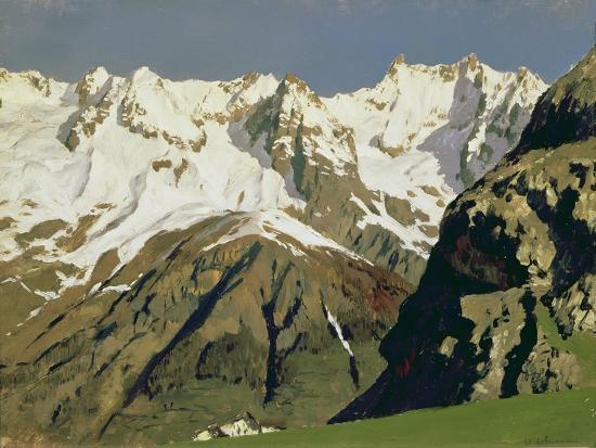 Mont Blanc Mountains, 1897-Isaak Ilyich Levitan-Giclee Print